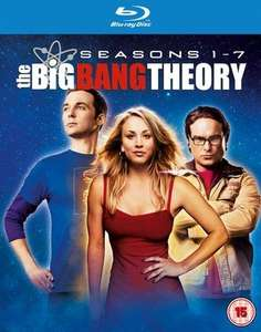 The Big Bang Theory: Seasons 1-7 Blu ray Used - £7.46 with code @ MusicMagpie