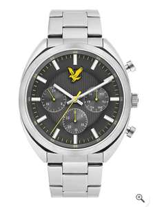 Men's Tevio XE Stainless Steel Bracelet Watch with Grey Dial by Lyle & Scott Now £39.99 - Delivery is £4.99 @ MandM Direct