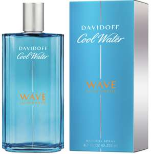 Davidoff Cool Water Wave Man 200ml EDT - £21.33 With Code & Free Delivery @ All Beauty