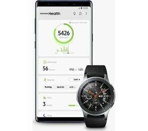 SAMSUNG Galaxy Watch 4G LTE - Silver, 46 mm - MISSING ACCESSORIES - £169.73 delivered @ eBay / Currys Clearance