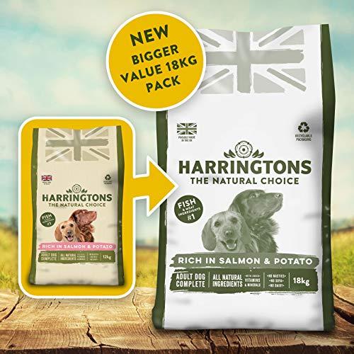 Harringtons Complete Salmon & Potato Dry Dog Food 18 kg £19.42 + £4.49 NP @ Amazon