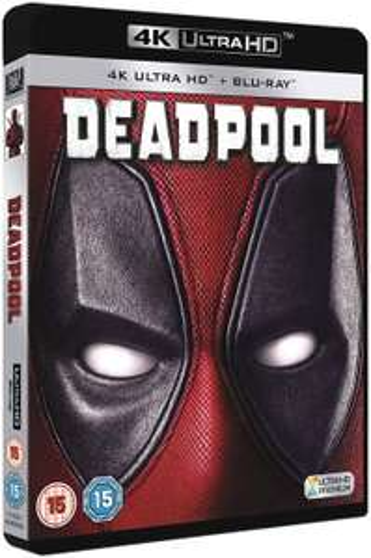 Deadpool 4k UHD [Blu-ray] [2016] £9.99 (£2.99 p&p non prime) @ Amazon