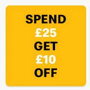 McDonalds £10 off a £25 spend on the App - Drive thru and click & serve only (account specific)