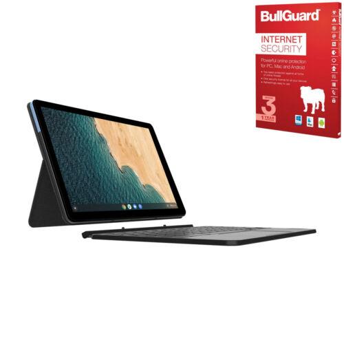 """Lenovo Chromebook Duet 10.1"""" 2 in 1 Full HD Laptop Mediatek P60T, 4GB, 64GB eMMC + antivirus £257.54 @ laptopoutletdirect ebay"""