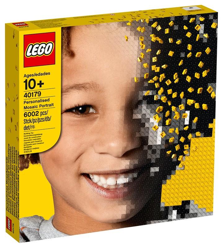LEGO 40179 Mosaic Maker now available online - £99.99 delivered @ LEGO Shop