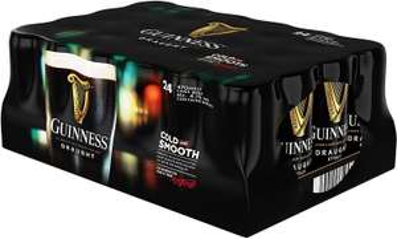 24 x Guinness - £20.00 (470ml) at Aldi Horwich