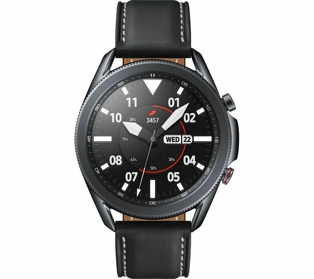 SAMSUNG Galaxy Watch 3 4G - Mystic Black, 45 mm - DAMAGED BOX £260.28 @ eBay Currys Clearance