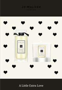 Jo Malone - Free miniature candle or miniature candle and bath oil with purchases over £80 / £110