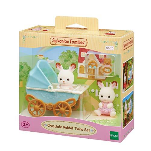 Sylvanian Families 5432 Chocolate Rabbit Twins Set £9.99 (Prime) + £4.49 (non Prime) at Amazon