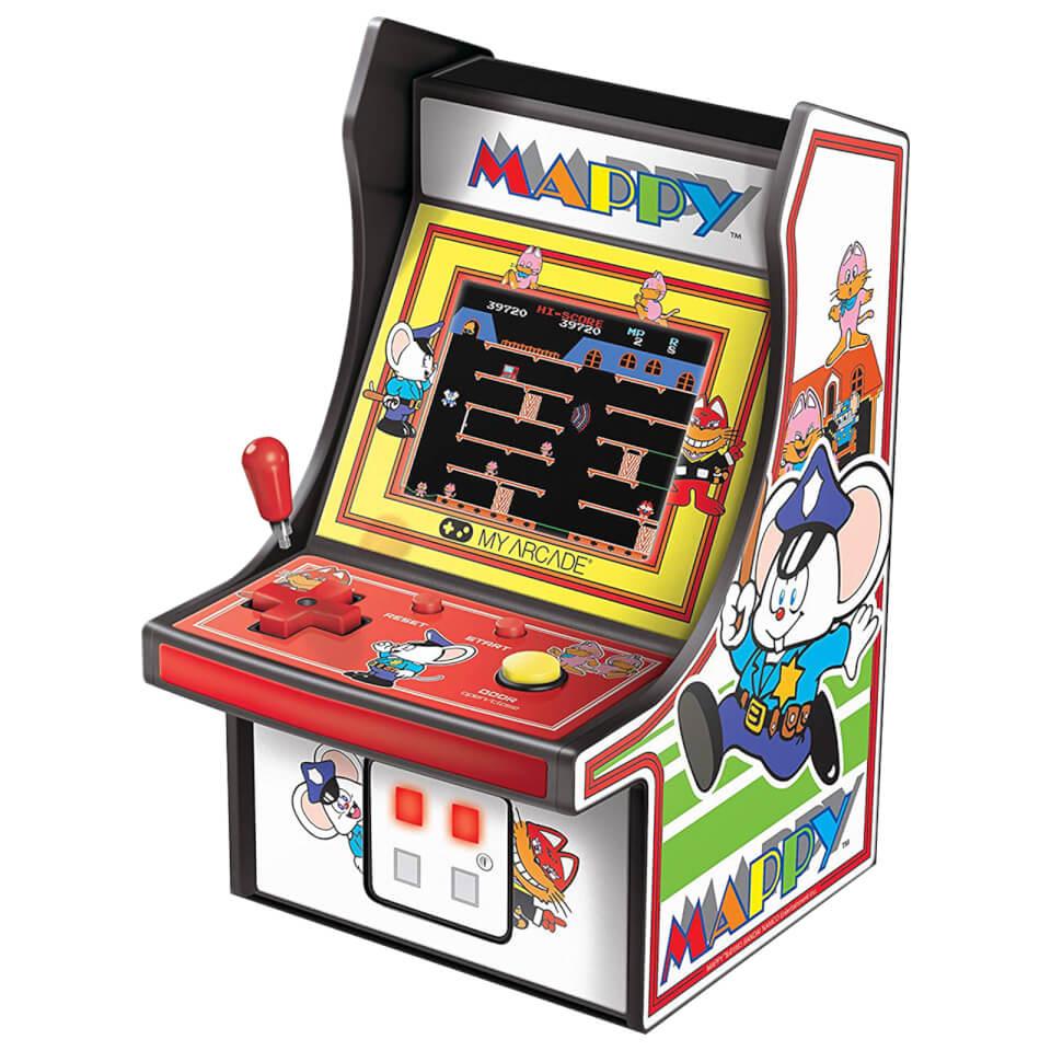 My Arcade - 6 Inch MAPPY™ (1983 - NES) Mini Retro Arcade Game - £11.99 delivered @ Zavvi