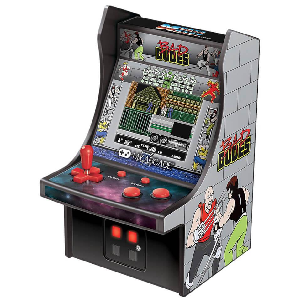 My Arcade - 6 inch 'Bad Dudes' (1989 - NES) Mini Retro Arcade Game - £11.99 delivered @ Zavvi