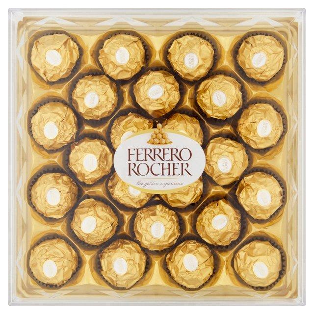 Ferrero Rocher 24 300g - £5 | Lindt 200gms £3.50 | Cadbury Milk Tray 360gm £3 Dairy Milk 360G £2.50 (Del Charge / Min Spend) @ Morrisons