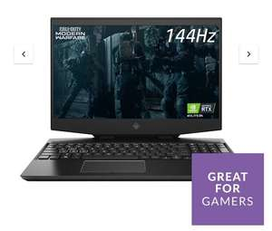 HP OMEN 15 Gaming Laptop - Intel Core i7, RTX 2060, 16GB RAM, 1TB SSD, 144hz (15-dh1005na) - £1149 + £3.99 delivery @ Very