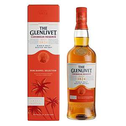 The Glenlivet Caribbean Reserve Single Malt Whisky 70 cl - £26 @ Amazon