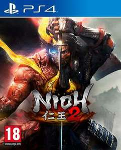 Nioh 2 (PS4 with free PS5 upgrade) £15.49 Delivered @ uk-tech-spares via eBay