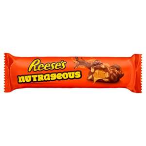 Reese's Nutrageous Chocolate 47G - 3 for £1.20 (+ Delivery Charge / Minimum Spend Applies) @ Tesco