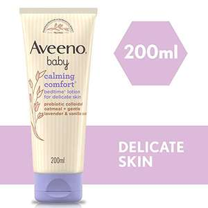Aveeno Baby Calming Comfort Bedtime Lotion, 200ml for £2.70 / (+£4.49 Non Prime) delivered @ Amazon