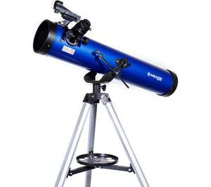 MEADE Infinity 76 Reflector Telescope in blue for £49.97 delivered @ Currys