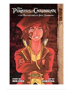 Disney's Pirate's of the Caribbean e-manga volumes for Kindle for 72p at Amazon