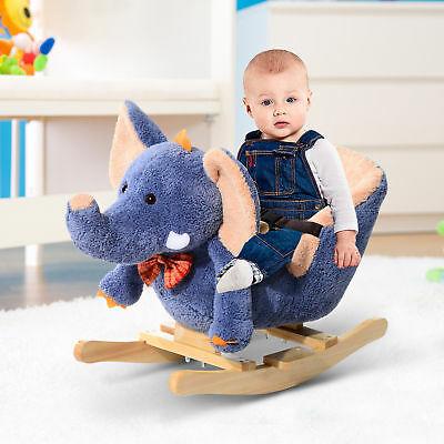 HOMCOM Rocking Elephant With Safety Strap and Music £42.49 Delivered Using Code @ eBay / mhstarukltd