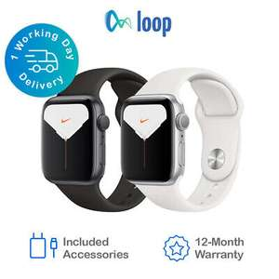 Apple Watch Series 5 Nike - 40mm GPS / WiFi Refurb (Good) £237.99 using code @ eBay / loop_mobile
