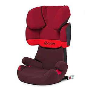 Cybex Silver Solution X-Fix Child's Car Seat with ISOFIX - Rumba Red £69.99 at Amazon