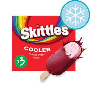 Skittles Ice Cream Stick Lollies 3X100ml priced at 10p INSTORE in ASDA (Bolton)