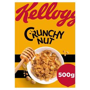 Kellogg's Crunchy Nut 500G £2.50 (Minimum Basket / Delivery Charges Apply) @ Tesco