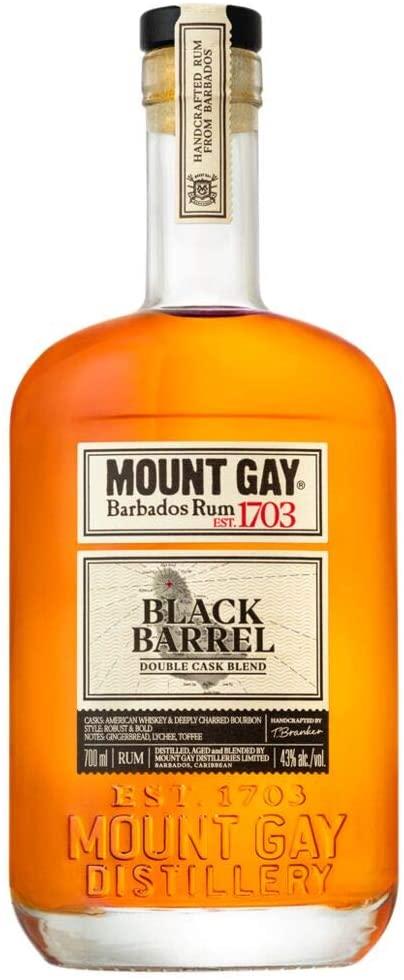 Mount Gay Black Barrel Double Cask Blend Rum, 70 cl £27.75 @ Amazon