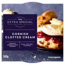 ASDA - Extra Special Traditional Cornish Clotted Cream 140g - £1 (+ Delivery Charge / Minimum Spend Applies) @ Asda