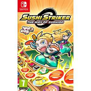Sushi Striker: The Way of Sushido (Switch) £5.95 delivered at The Game Collection
