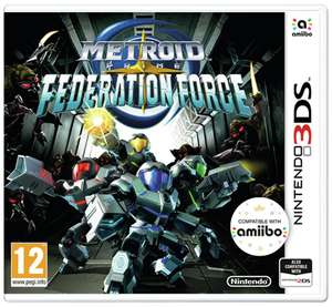 Metroid Prime: Federation Force Nintendo 3DS Game £2.99 + £3.95 delivery at Argos
