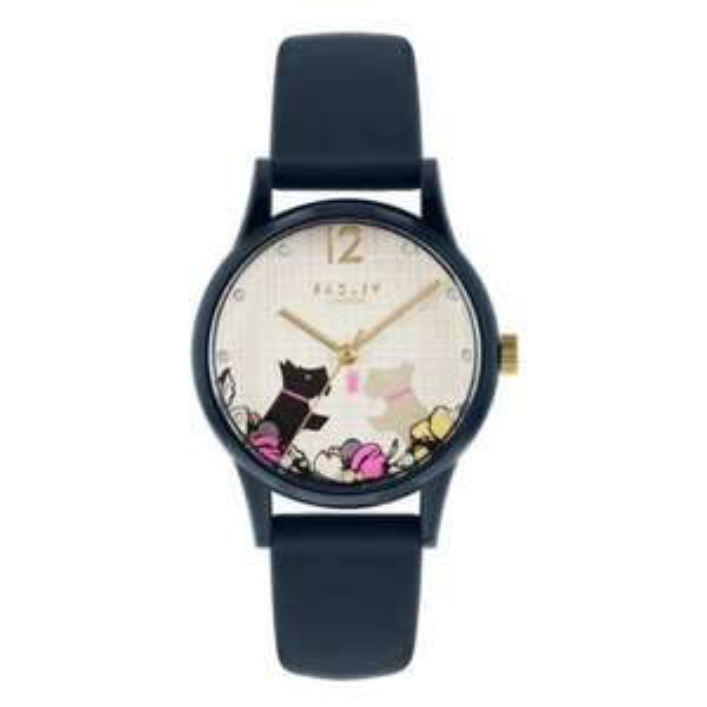 Radley Ladies Navy Silicone Strap Watch now £25 / £28.95 delivered @ Argos