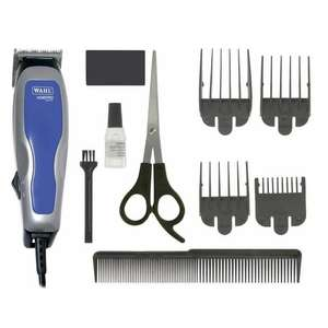 Wahl HomePro Basic Corded Hair Clipper Set with 4 attachment combs, and scissors £10.19 delivered @ Wahl Store
