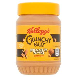 Kellogg's Crunchy Nut Crunchy Peanut Butter 340g £2 (Delivery Charge / Minimum Spend Applies) at Sainsbury's