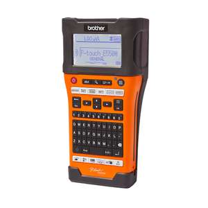 Brother pt-e550wvp hand-held label printer (1264g) £113.89 - Plumbfix and Electricfix exlusive price at Screwfix