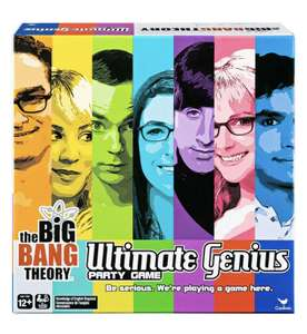 The Big Bang Theory Ultimate Genius Party Game - £2.99 Delivered @ Zoom / eBay