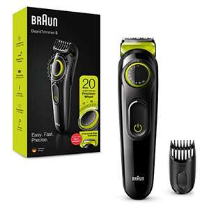 Braun Beard Trimmer BT3221 and Hair Clipper £15 (Prime) + £4.49 (non Prime) at Amazon