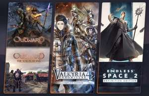 Humble Choice Feb 2021 (Valkyria Chronicles 4/ Move Out/ Outward/ Trine 4/ Endless Space 2/ Werewolf + more) £11.99/£15.99 @ Humble Bundle