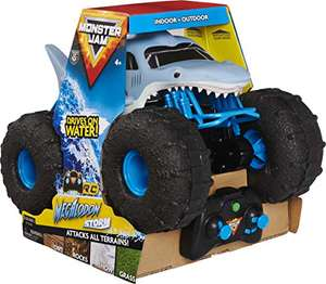 Monster Jam Official Megalodon STORM All-Terrain Remote Control Monster Truck, 1:15 Scale £59.99 Back In Stock @ Amazon