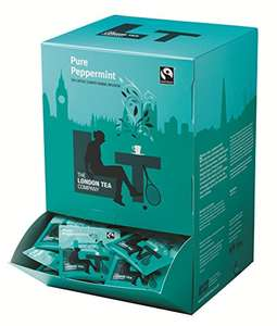 The London Tea Company Fairtrade Pure Peppermint 250 Envelope Teabags (Pack of 4) £22.06 @ Amazon