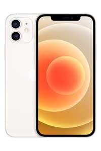 iPhone 12 64 GB White Unlimited Minutes, Texts & Data via EE £52 p/m 24 months £1248 @ Buymobiles