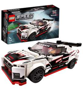 LEGO 76896 Speed Champions Nissan GT-R NISMO Racer Toy with Racing Driver Minifigure £12.78 Prime / £4.49 non Prime At Amazon