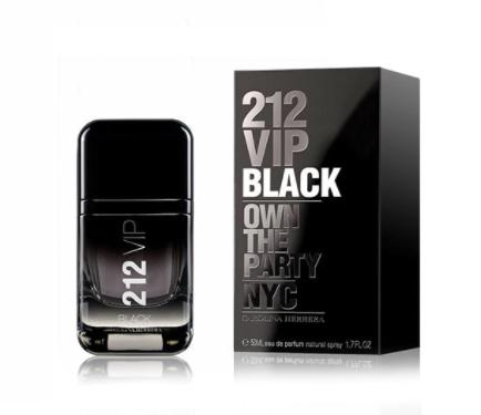 2 Carolina Herrera 212 VIP Men Black Eau De Parfum 50ml Members only £45 @ Superdrug