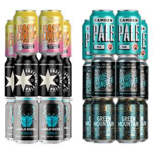 IPA and Pale Ale Mixed Mega-Pack (24 Beers) £24 Delivered with code @ Beer Hawk