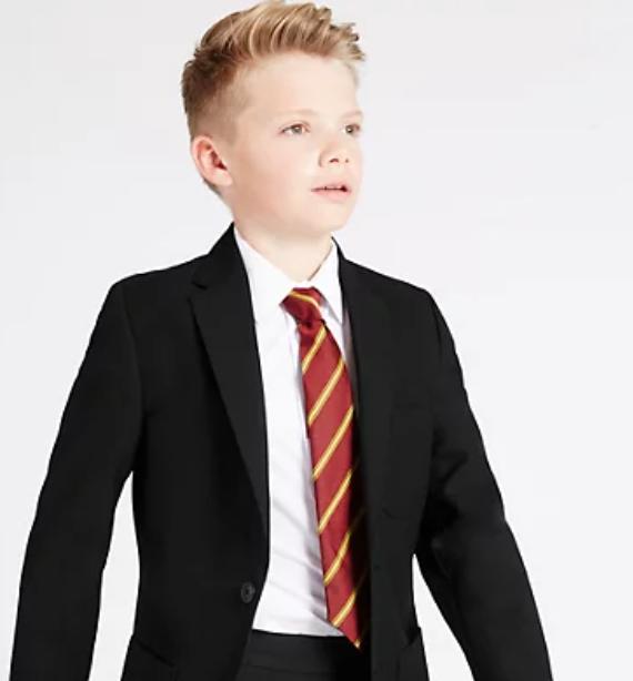 Variety of school blazers reduced e.g Senior Boys' Additional Length Blazer £8 + £3.50 delivery @ Marks & Spencer