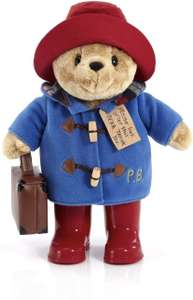 Rainbow Designs Classic Paddington with Boots and Suitcase 36cm £25.57 (£20.57 with code) @ Amazon