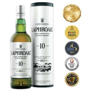 Laphroaig 10 Year Old Single Islay Malt Whisky 70cl - £28 (+ Delivery Charges / Min Spend Applies) @ Morrisons