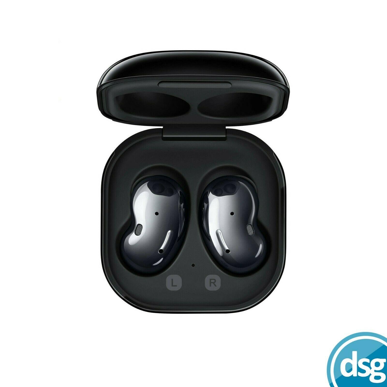 Samsung Galaxy Buds Live True Wireless Earbud Headphones - Mystic Black - seller refurbished - £89.99 delivered @ dsg_outlet / eBay