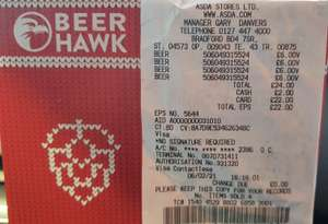 Beer Hawk Christmas Gift 6 Pack £6 Instore @ Asda (Bradford)